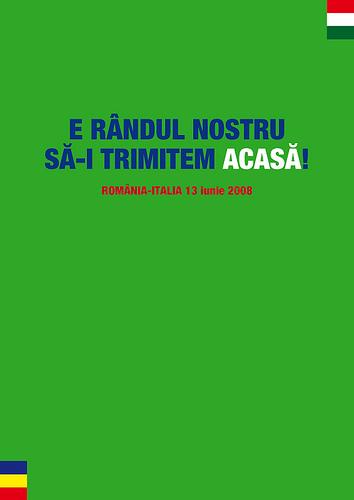 Acasa, Romania - Italia, 13 Iunie 2008