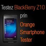 Orange Smartphone Tester